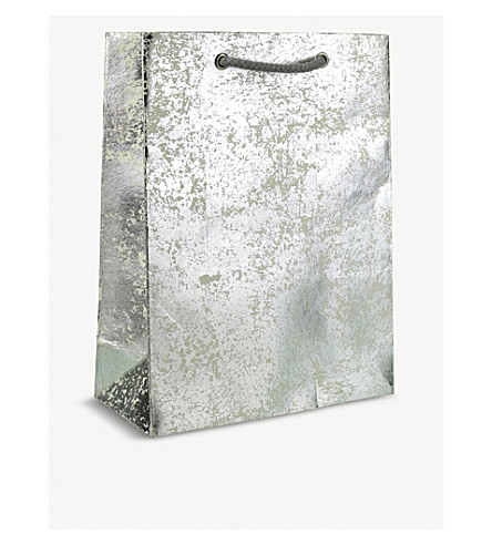 VIVID WRAP Large crushed foil gift bag