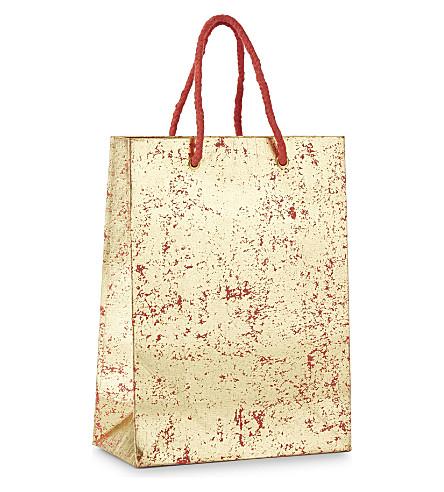 VIVID WRAP Crushed foil mini gift bag