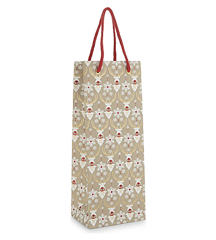 VIVID WRAP Rudie glitter bottle bag