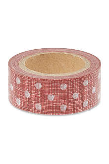 CHRISTMAS Red dot paper tape 10m
