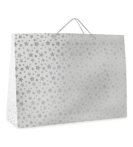GLOBAL ENTERPRISE Twinkle star extra large gift bag 40.5cm