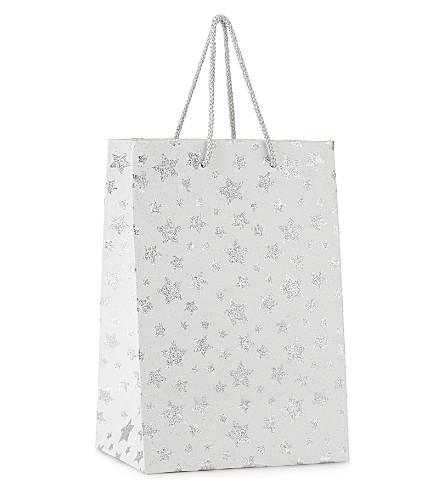 GLOBAL ENTERPRISE Twinkle star large gift bag 25.5cm