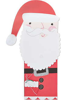 MERI MERI Father Christmas bottle bag