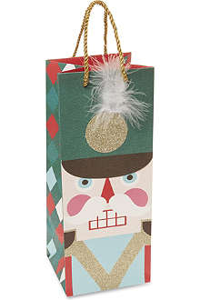 MERI MERI Nutcracker bottle gift bag