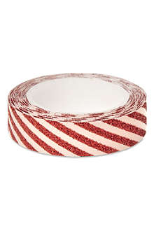 MERI MERI All Wrapped Up red striped sticky tape