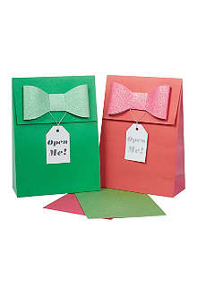 MERI MERI Green red small bags