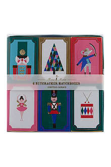 MERI MERI Nutcracker matchboxes