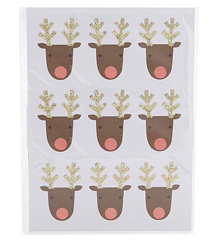 MERI MERI Reindeer sticker sheets