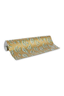 CASPARI Snowy pine wrapping paper