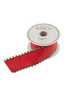 CASPARI Pom-pom edge ribbon 8m