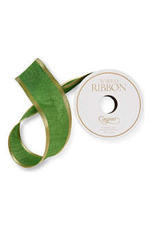 CASPARI Raw silk gift ribbon 9m