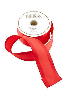 CASPARI Red moire ribbon