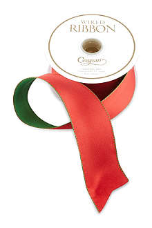 CASPARI Reversible wired ribbon