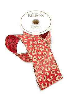 CASPARI Animal printed ribbon