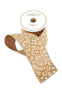 CASPARI Animal print ribbon