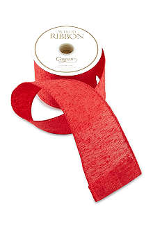 CASPARI Wide linen ribbon