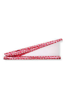 CHRISTMAS 'Happy Christmas' red and metallic gift roll