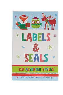 DEVA DESIGNS Book of labels and seals