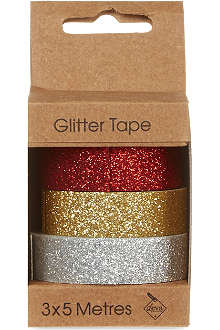 DEVA DESIGNS Glitter tape three pack