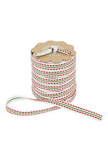 DEVA DESIGNS Festive stitch ribbon 5m