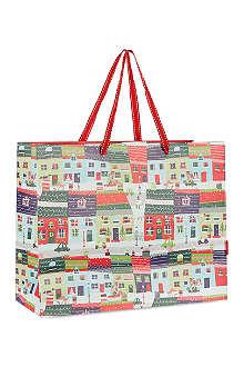 DEVA DESIGNS Snow town gift bag