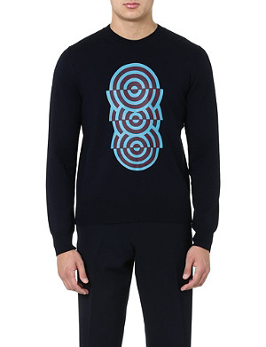DRIES VAN NOTEN Michel knitted jumper