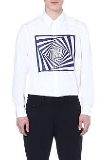 DRIES VAN NOTEN Corbin graphic-print shirt