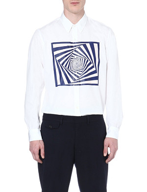 DRIES VAN NOTEN Corbin graphic-print shirt