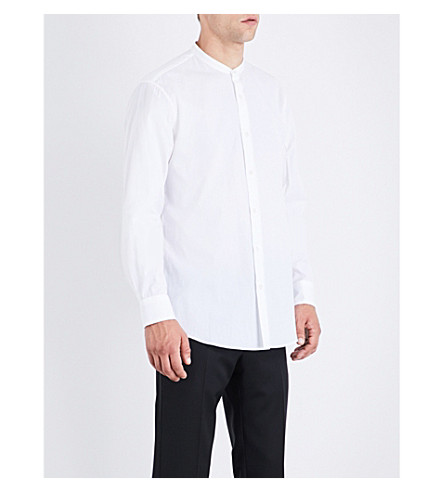 DRIES VAN NOTEN Claver regular-fit cotton shirt (White