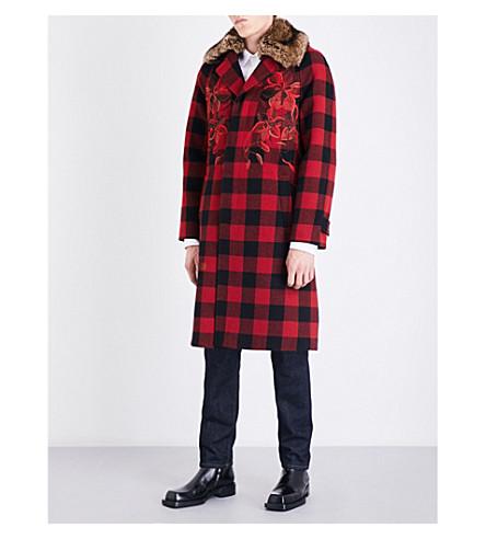 DRIES VAN NOTEN Rufus wool jacket (Red