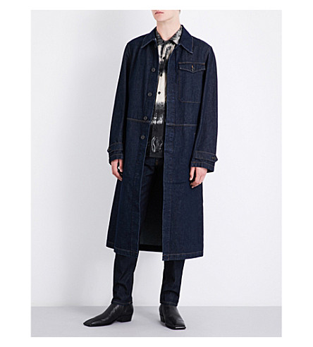 DRIES VAN NOTEN Vesper denim coat (Indigo