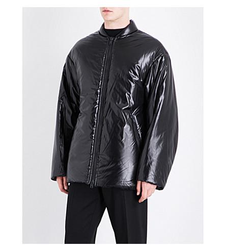 DRIES VAN NOTEN Volta oversized shell jacket (Black