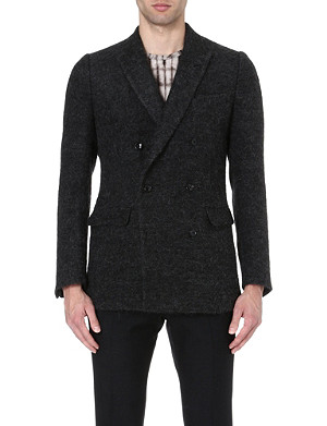DRIES VAN NOTEN Baltimore wool-blend jacket
