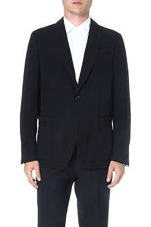 DRIES VAN NOTEN Branson contrast-panel blazer