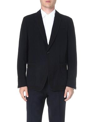 DRIES VAN NOTEN Branson contrast-panel blazer
