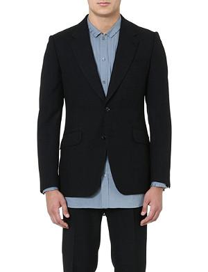 DRIES VAN NOTEN Brent flecked blazer