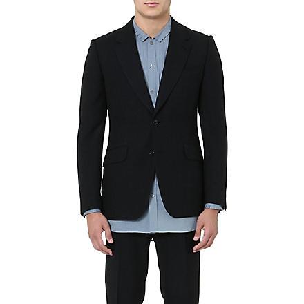 DRIES VAN NOTEN Brent flecked blazer (Grey