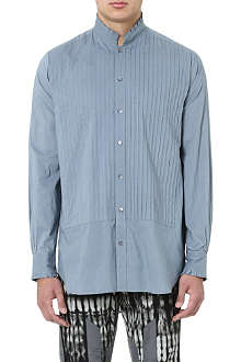 DRIES VAN NOTEN Pintuck smock shirt