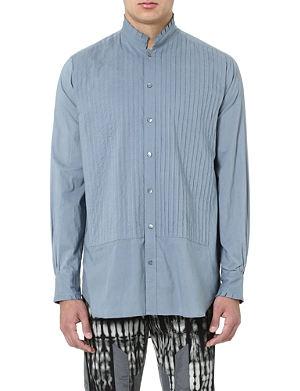 DRIES VAN NOTEN Pintuck smock shirt