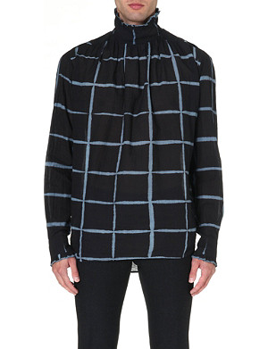 DRIES VAN NOTEN Cedric Victorian cotton shirt