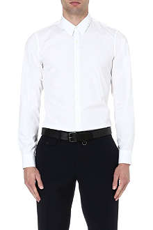 DRIES VAN NOTEN Cervi cotton-poplin shirt