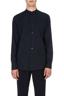 DRIES VAN NOTEN Claver granddad-collar shirt