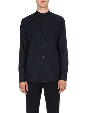 DRIES VAN NOTEN Claver granddad-collar shirt