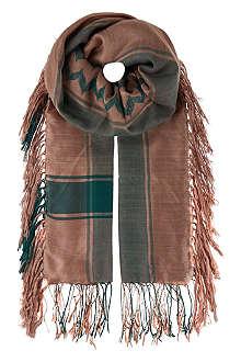 DRIES VAN NOTEN Kefia scarf