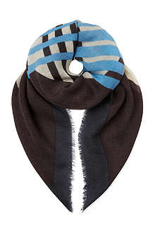 DRIES VAN NOTEN Chopped scarf