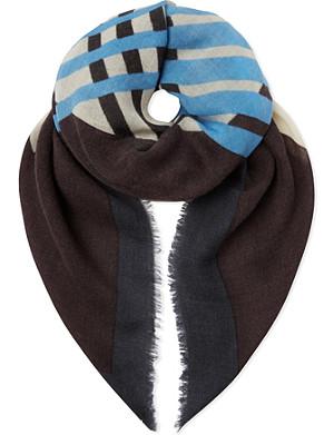 DRIES VAN NOTEN Chopped scarf