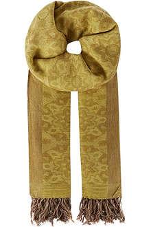 DRIES VAN NOTEN Jaquard scarf