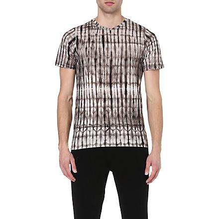 DRIES VAN NOTEN Hobba tie-dye t-shirt (Grey