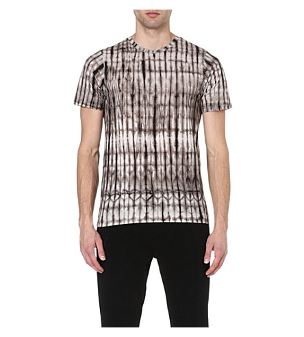 DRIES VAN NOTEN Hobba tie-dye t-shirt (Grey