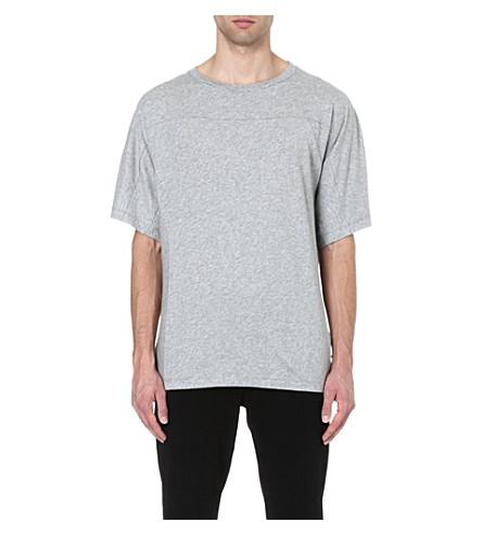 DRIES VAN NOTEN Hoburg oversized t-shirt (Grey